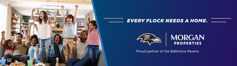 Morgan Properties is a Proud Partner of the Baltimore Ravens