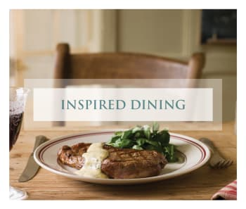 Learn more about our fantastic dining options at Legacy Living Jasper