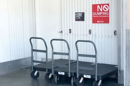 Moving Carts available at StorQuest Self Storage in Los Angeles