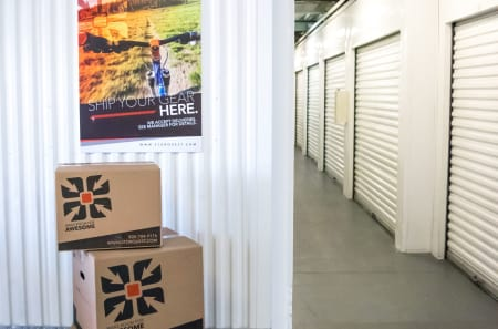 Interior Units at StorQuest Self Storage in Los Angeles