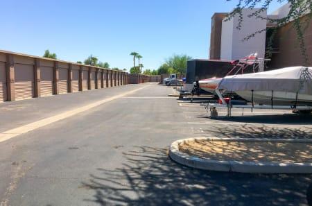 RV and Boat storage in Glendale, AZ