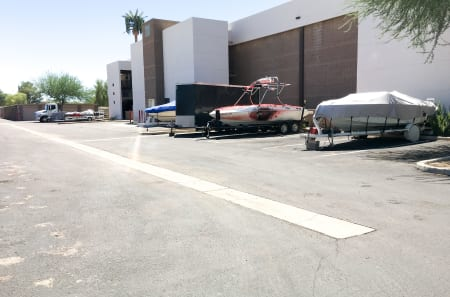 boat and RV parking in Glendale, AZ