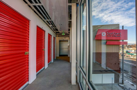 Interior Units at StorQuest Self Storage in Lakewood, CO