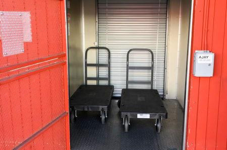 Moving Carts at StorQuest Self Storage in Westlake Village, CA
