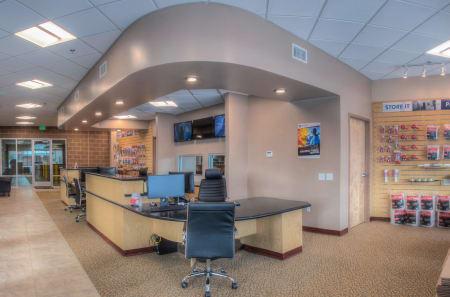 Rental office at StorQuest Self Storage