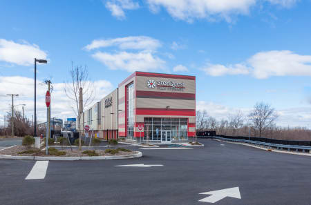 Jersey City self storage facility exterior photo.