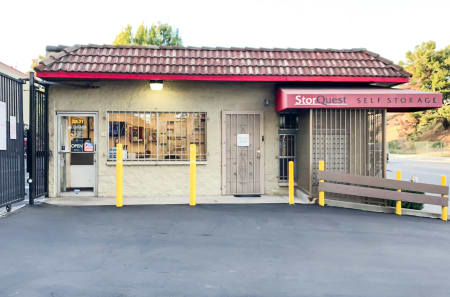 Exterior Office View at StorQuest Self Storage in Los Angeles, CA