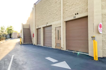 Exterior Units at StorQuest Self Storage in CA