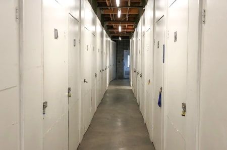Bright Interior Units at StorQuest Self Storage in Los Angeles, CA