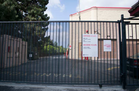 Security Gate at StorQuest Self Storage in West Los Angeles, CA