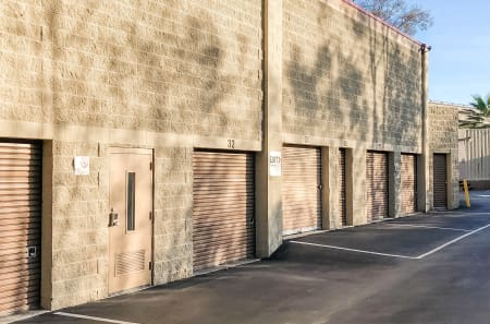 Exterior Units at StorQuest Self Storage in Los Angeles