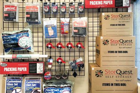 Storage Supplies at StorQuest Self Storage in Los Angeles, CA
