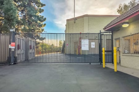 Entrance at StorQuest Self Storage in West Los Angeles, CA
