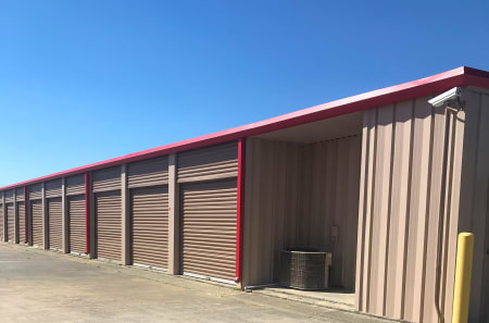 Exterior Units at StorQuest Self Storage in Tomball, TX