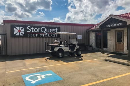 Front Office at StorQuest Self Storage in Tomball, TX