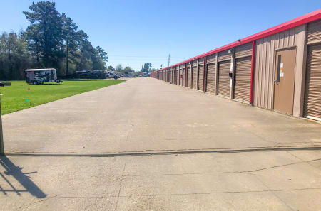 Exterior Units at StorQuest Self Storage in Tomball