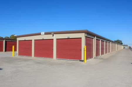 Exterior Units at StorQuest Self Storage in Kyle