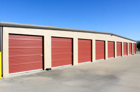 Exterior Units at StorQuest Self Storage in Kyle, TX