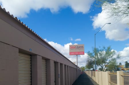 Exterior Signage at StorQuest Self Storage in Phoenix, AZ