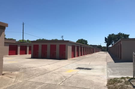 Outdoor Storage Units at StorQuest Self Storage in Tampa, FL