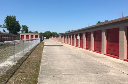Outdoor Units at StorQuest Self Storage in Tampa, FL