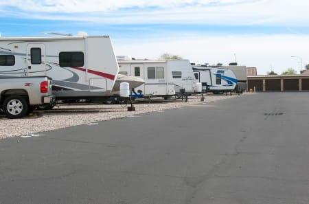 RV Storage at StorQuest Self Storage in Apache Junction, AZ