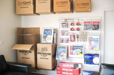 Storage Supplies at StorQuest Self Storage in Apache Junction, AZ