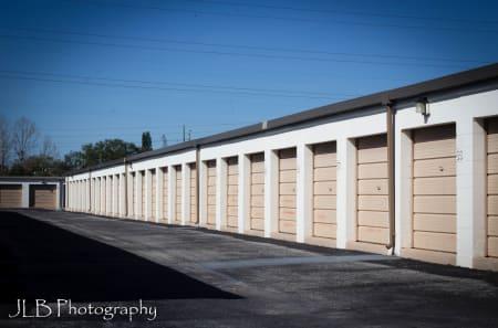 Exterior Storage Units at U Stor N Lock in FL