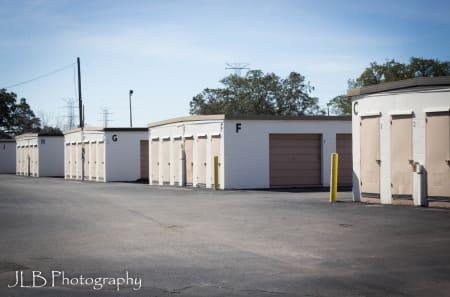Exterior Storage Units at U Stor N Lock in Clearwater, FL
