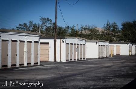 Exterior Storage Units at U Stor N Lock in Clearwater