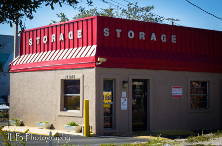 Storage building exterior in Clearwater