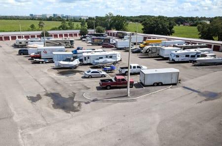 Parking at StorQuest Self Storage in Tampa, FL
