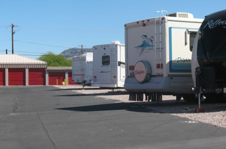 RV storage at StorQuest Self Storage in Apache Junction, AZ