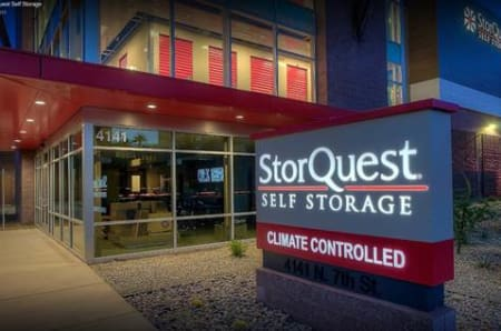 Exterior of StorQuest Self Storage