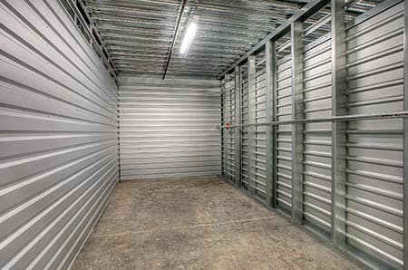 Well-lit storage facility