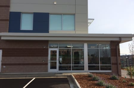 StorQuest Self Storage front entrance