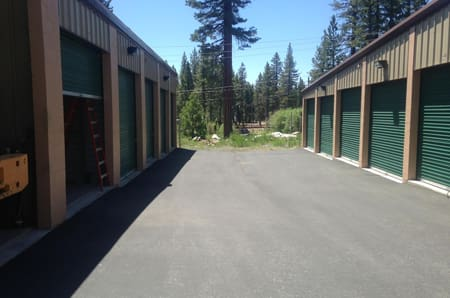 Driveway at StorQuest Express - Self Service Storage