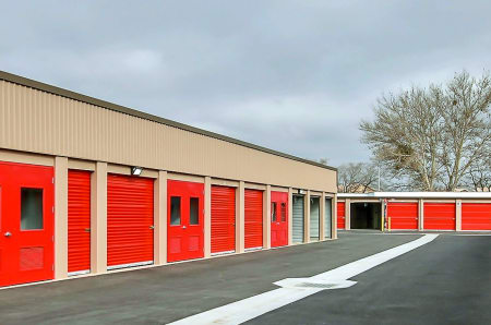 Outdoor Units at StorQuest Self Storage in Brentwood, CA