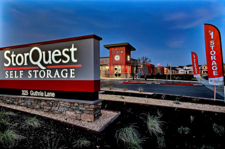 Exterior Signage at StorQuest Self Storage in Brentwood, CA