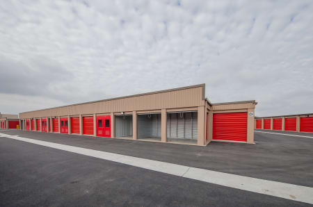 Exterior Units at StorQuest Self Storage in Brentwood, CA