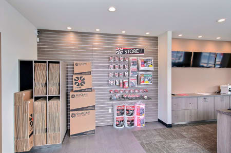 Packing supplies available at StorQuest Express - Self Service Storage