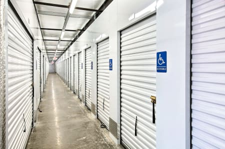 A look at the inside of StorQuest Self Storage in Shirley