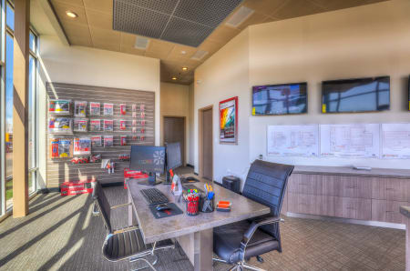 Leasing office at StorQuest Self Storage in Hillsboro, Oregon