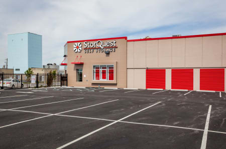 Exterior Units At StorQuest Self Storage In Long Beach, NY