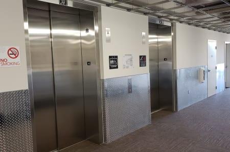 Elevators at StorQuest Self Storage in Anaheim, CA