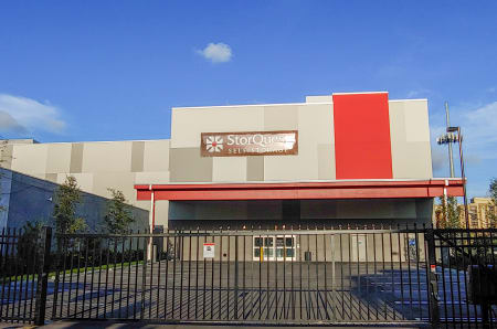 Store front at StorQuest Self Storage in North Miami, FL
