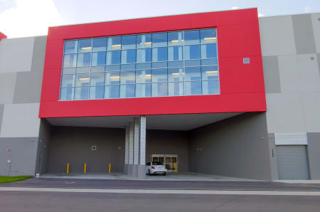 Exterior view at StorQuest Self Storage in North Miami, FL
