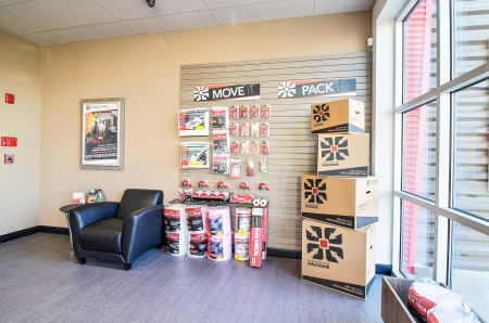 Merchandise at StorQuest Express - Self Service Storage in Woodland, CA