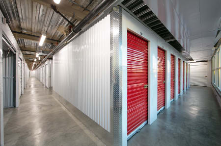 Interior units at StorQuest Self Storage in Anaheim, CA