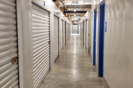 Interior units at StorQuest Self Storage in North Miami Beach, FL